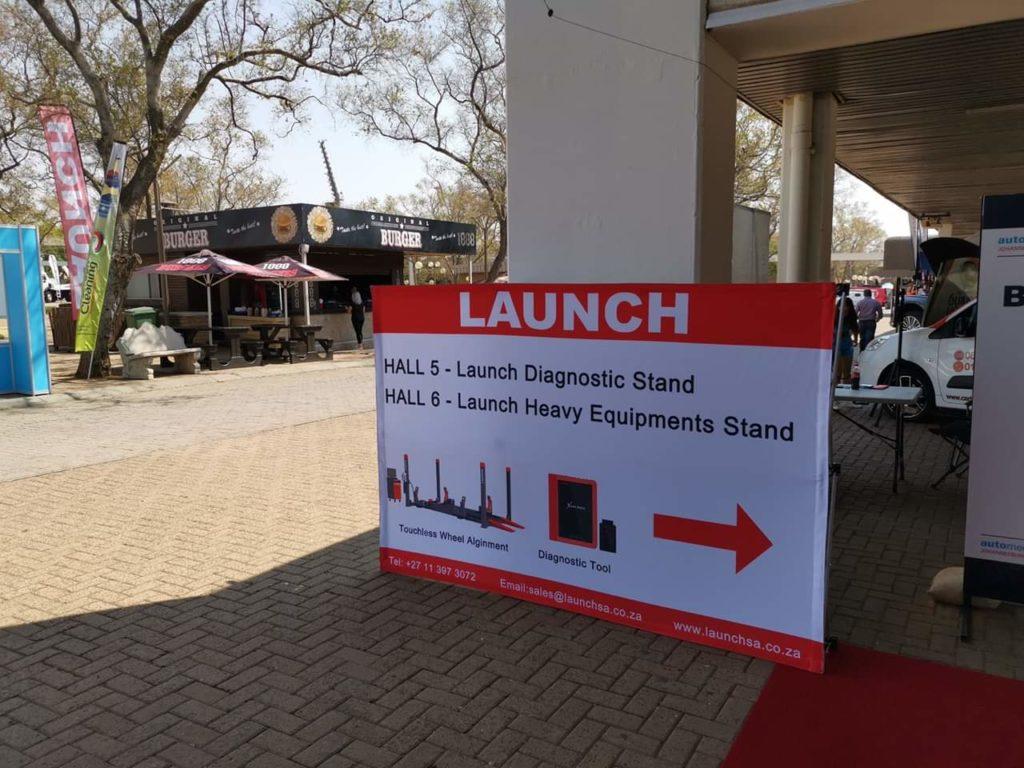 Launch на Автомеханика 2019 в Йоханнесбурге